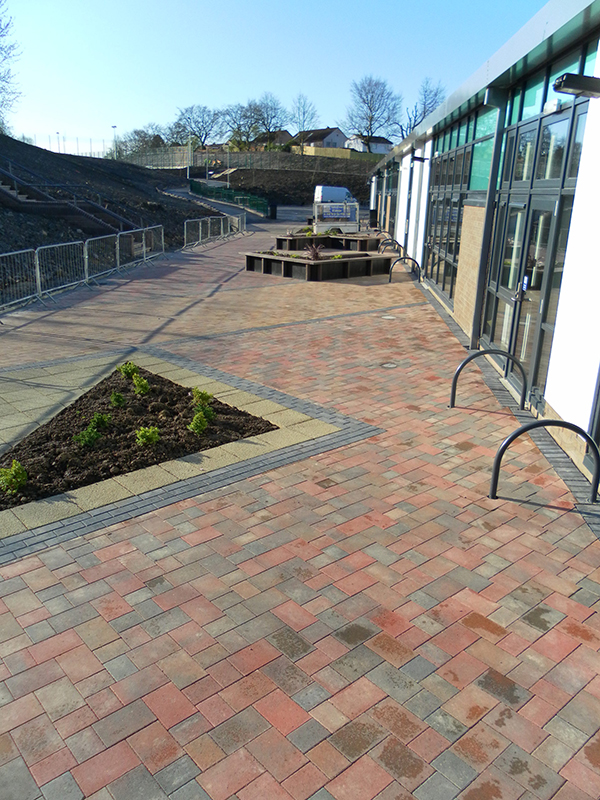 Victoria Driveways - Commercial project